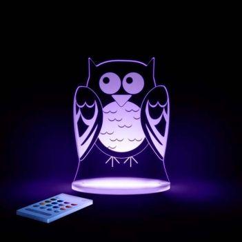 New LED Owl Night Light by Aloka