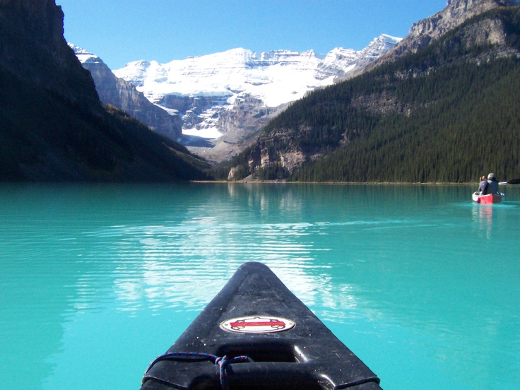The Rocky Mountains - a place for all seasons and all reasons - Lake Louise (Photo by Anita, September 2009)