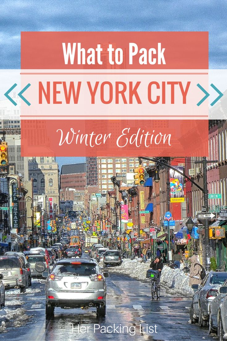What to Pack for new york winter