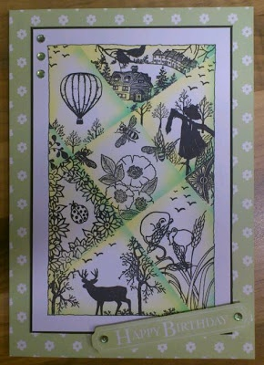 Cards made using Clarity Stamps