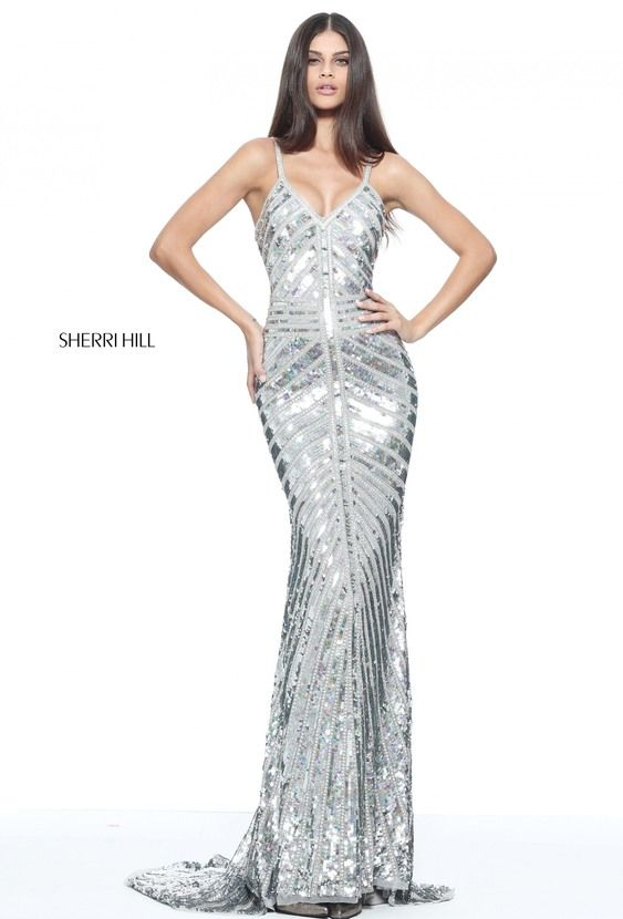 Sherri Hill 51206 | Bodycon Sequin Dress