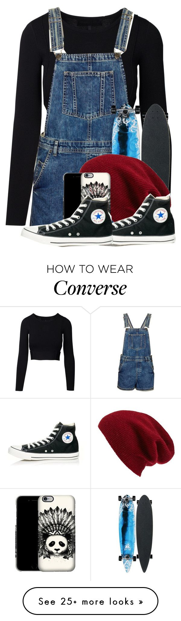 """Untitled #1235"" by jasloves5sos on Polyvore featuring Topshop, Halogen and Converse"