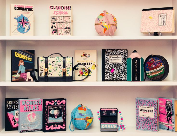 """I was always into embroidery and started collecting old books when I was very young."" http://www.thecoveteur.com/olympia-le-tan/"