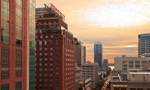 Groupon - Stay with Restaurant Credit at The Roosevelt Hotel in Seattle, WA in Seattle. Groupon deal price: $109
