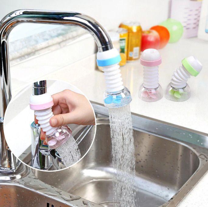 Kitchen Splash Proof Shower Faucet Filter Tip Plastic Water Saving Home Tool Kitchen Faucet Shower Faucet Faucet Aerators