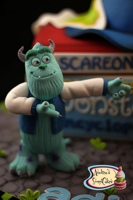 Monsters University cake | Flickr - Photo Sharing!