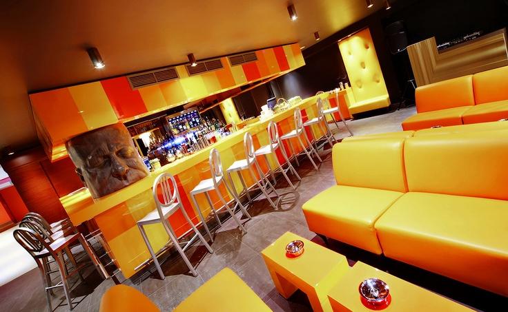 Cocktail Bar Nove #stpetersburg #russia #bar #design #yellow #cocktails #hotel #drink #travel