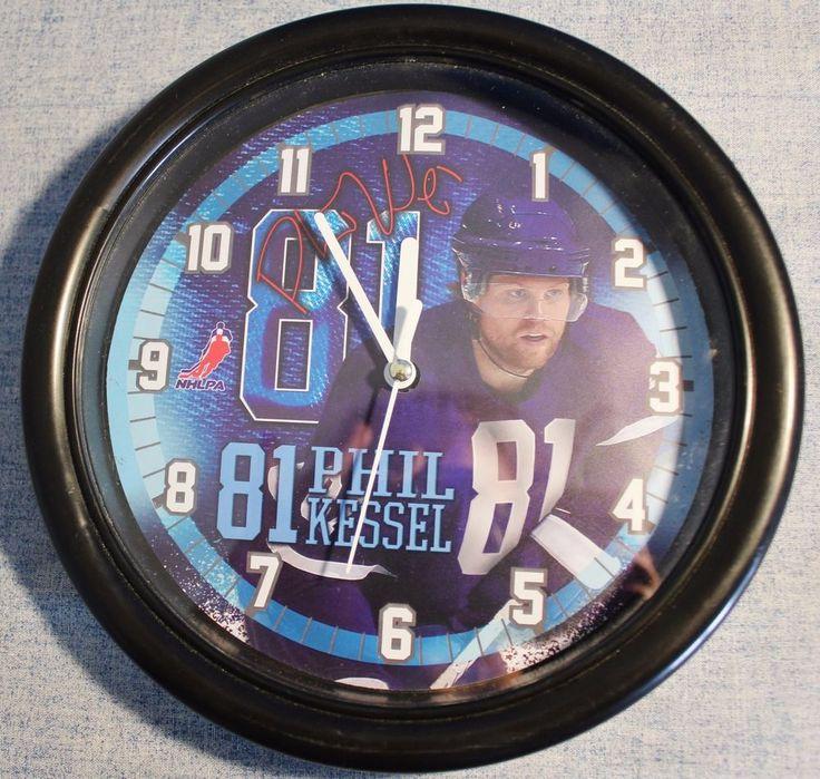 Phil Kessel 81 NHLPA Toronto Maple Leafs Wall Clock Hockey Fan Man Cave Bar  #Unbranded #TorontoMapleLeafs