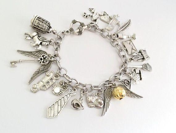Bedelarmband Harry Potter Gouden Snaai armband door Trinketberry
