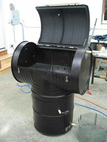 Barrels Upcycle grill :-)