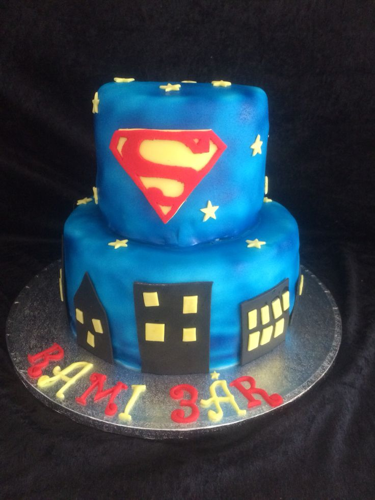 Superman birthdaycake