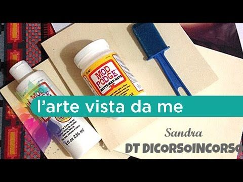 Come trasferire un'immagine su legno/stoffa/tela-MOD PODGE Photo Transfert Medium-Image transfer DIY - YouTube