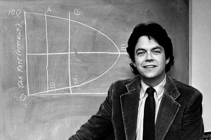 "The godfather of supply-side economics and inventor of the ""Laffer Curve"" is largely discredited by his peers, but revered by Trump and the GOP."