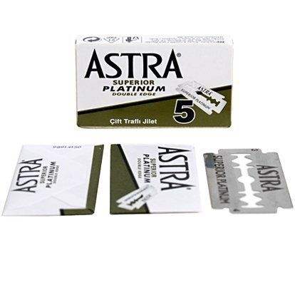 Astra Superior Platinum Double Edge Razor Blades - 20 Ct. For product & price info go to:  https://beautyworld.today/products/astra-superior-platinum-double-edge-razor-blades-20-ct/