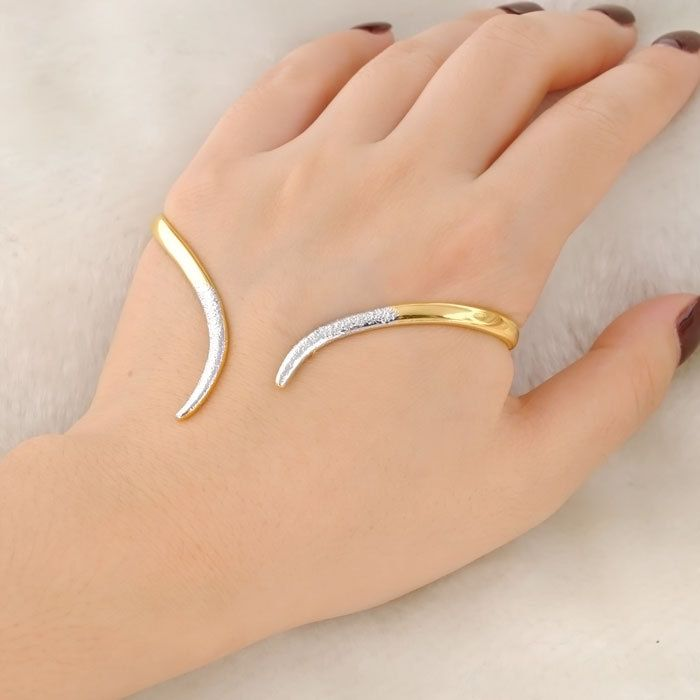 f1c4d320ba8a5 Find More Bangles Information about New Trendy Jewelry Palm Bracelet ...