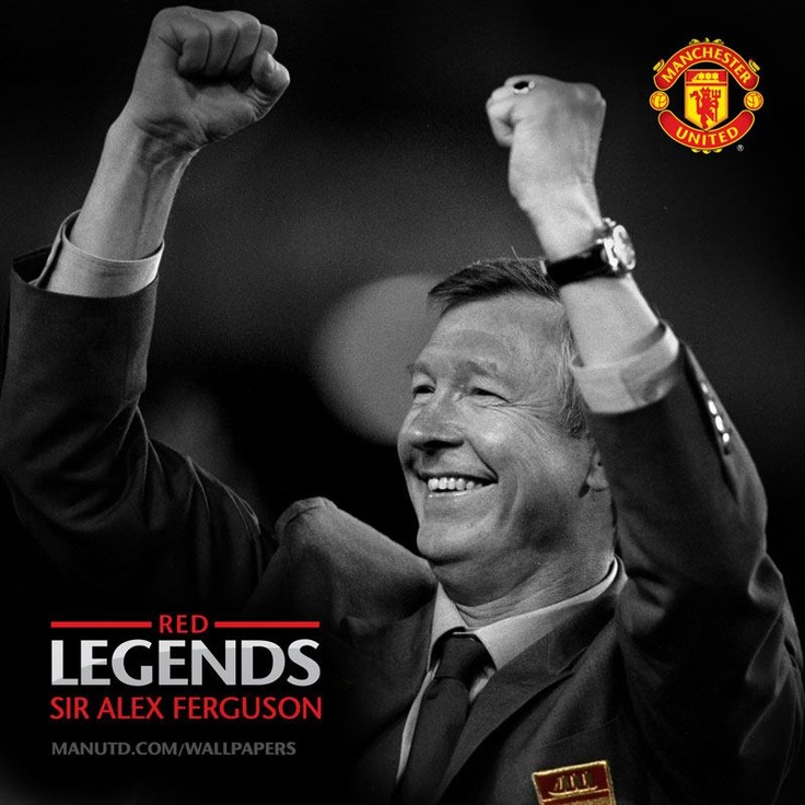 Sir Alex Ferguson - the mastermind behind United's success… #ManUtd