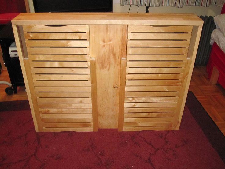 ikea hack radiator cover using molger storage stool materials molger storage stool shelf from. Black Bedroom Furniture Sets. Home Design Ideas
