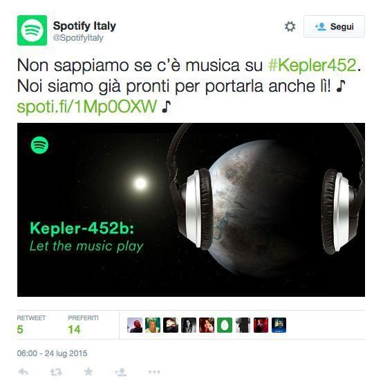 Spotify Kepler