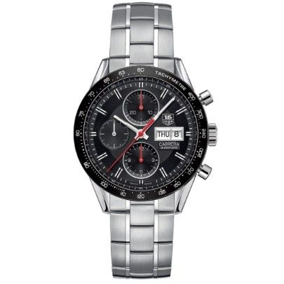 Tag Heuer Mens Carrera Watch CV201AH.BA0725 - Tag Heuer Watches - Collections - Tag Heuer - Brands - Watches | T.H. Baker Family Jewellers