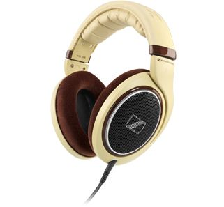 Sennheiser HD 598 Headphones. Not only are the HD 598 aesthetically pleasing to the eyes but they also provide impeccable sound quality and unrivalled comfort. These beige-coloured, open, circumaural headphones come with high-gloss burl wood parts and matching earpads for a sophisiticated, premium finish.  www.needledoctor.com