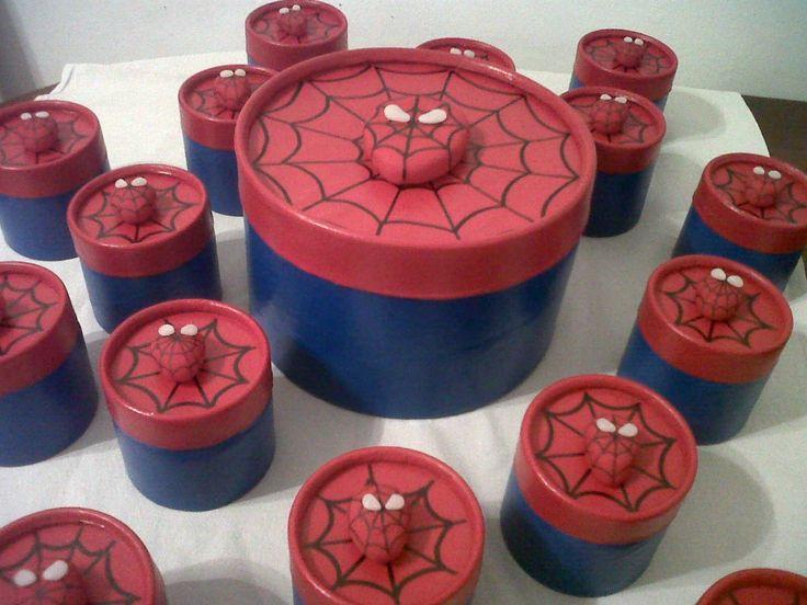 centros de mesa del hombre araña - Buscar con Google