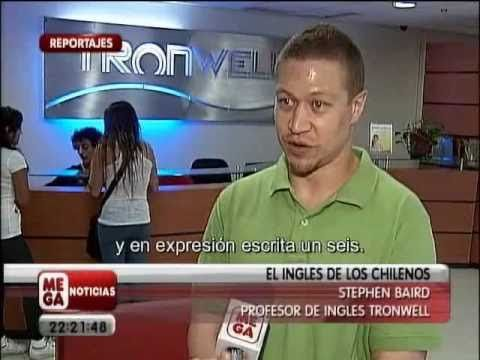 This is Part 2 of a video report shown on Meganoticias in Chile regarding Chilean English abilities.   The report is in Spanish with some English. (examples of Chileans speaking English)