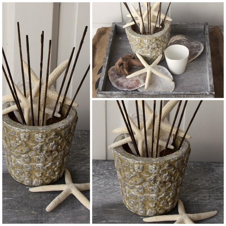 DIY Citronella Incense deko