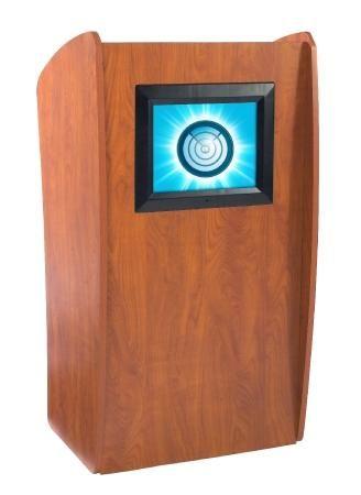 Oklahoma Sound Vision Floor Lectern w/ Display