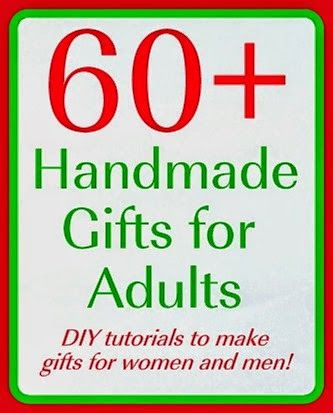 Over 60 Handmade Gift Tutorials - Mad in Crafts