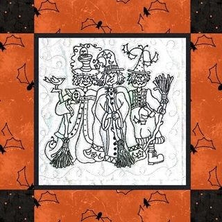 Picture of A Coven of Witches Quilt Pattern