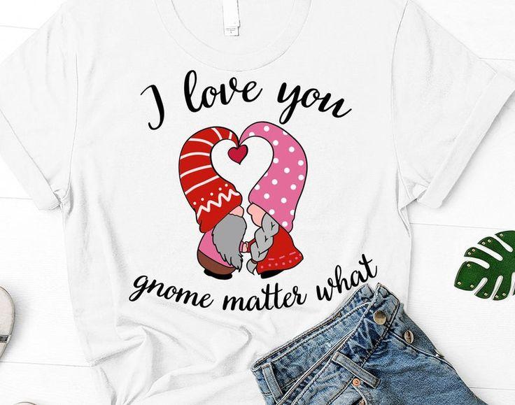 Download Valentine's Gnomes svg, I love you gnome matter what svg ...