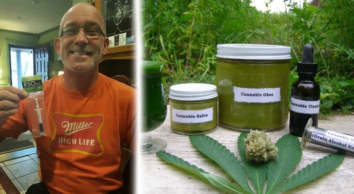 "A combination of cannabis oil and chemotherapy healed this man's ""incurable inoperable"" lung cancer. Now, he's paying it forward by helping others heal their lives, too."
