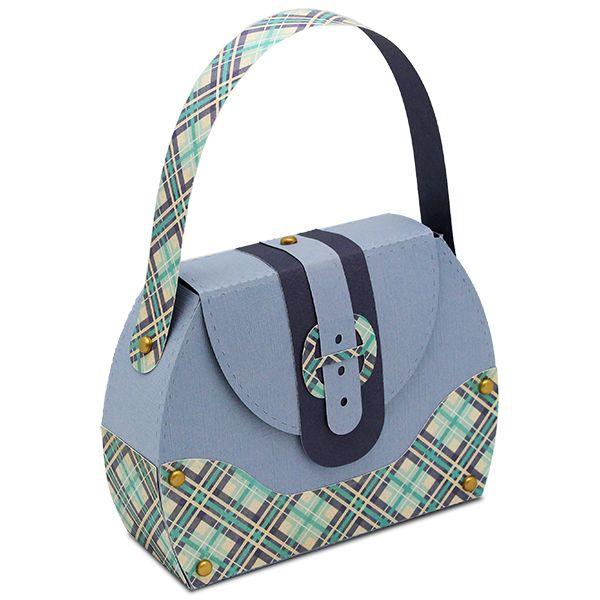 Samantha Walker's Imaginary World: Make your own paper purse!