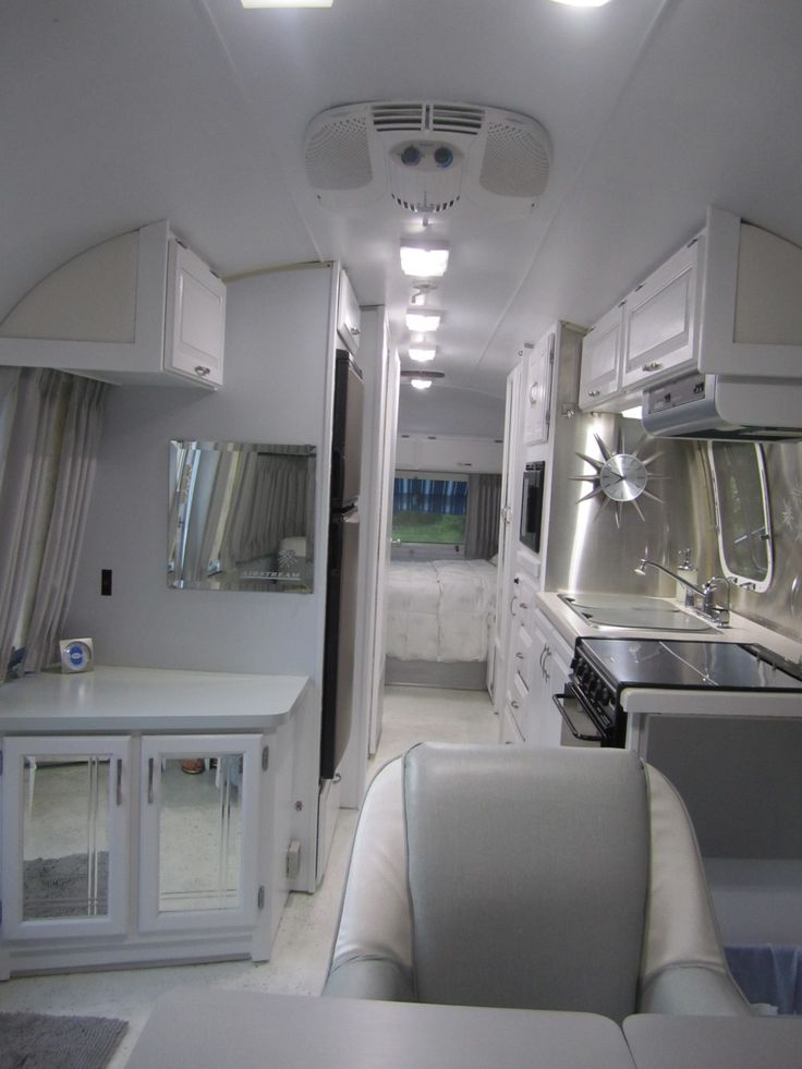 48 Best Airstream Images On Pinterest Caravan Van Home Ideas And Inspiration Airstream Interior Design Painting