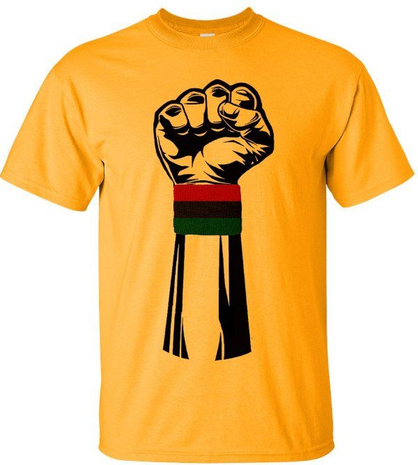 AFRICAN AMERICAN T SHIRTS..BLACK OWNED!! BLACK HISTORY T-SHIRTS, BLACK OWNED, African American T-shirts, Black Heritage Tees, Afrocentric Tee Shirts, Urban T-shirts For Women,  Political T-shirts for Women, Rhinestone T-shirts for Women, Urban T-shirts for Ladies, Hip Hop T-shirts For Women, - Black Power Fist