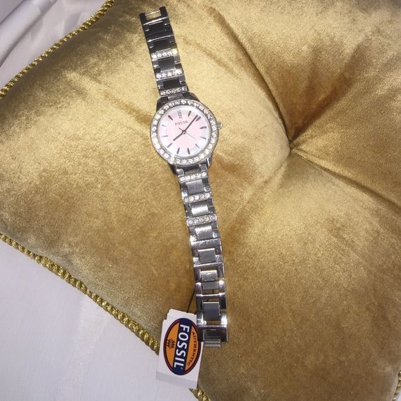 Fossil Authentic Watch Fossil authentic watch- in original box / with all tags / worn once / buttery need to be changed FOSSIL Accessories Watches