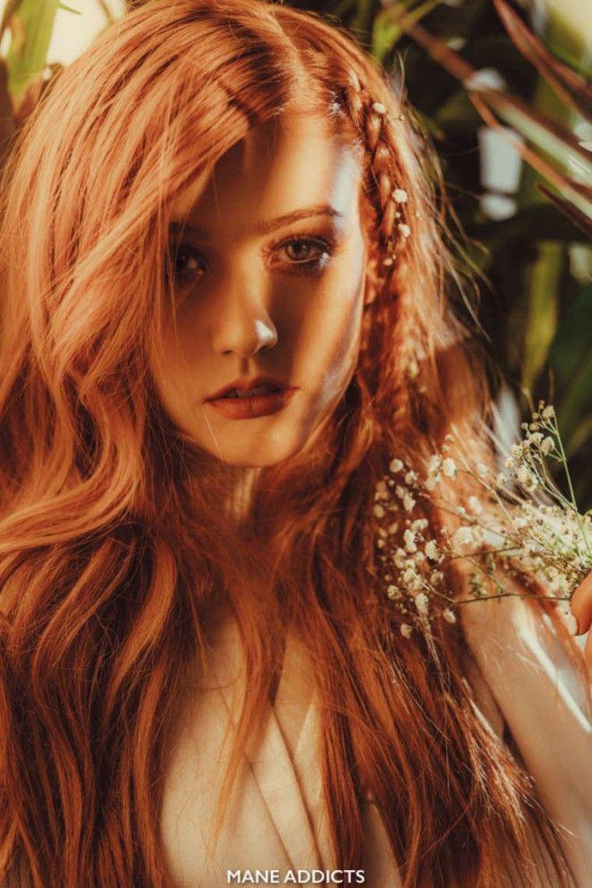 mooi rood is niet lelijk ♥ Red hair - Katherine McNamara   2016