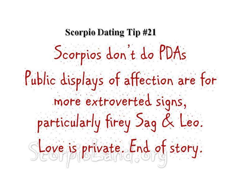 Scorpio Dating Tips