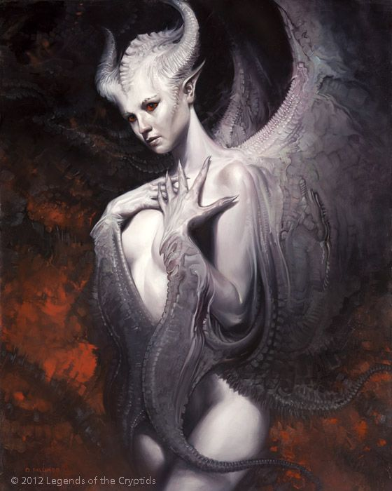 'Ivory Wings' by Dave Palumbo, from the Legends of the Cryptids series