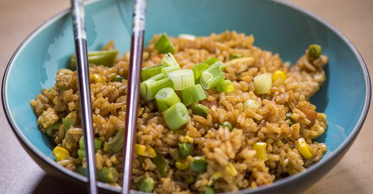 Use riced cauliflower in place of the rice. Ditch the takeout and try this super simple recipe at home!