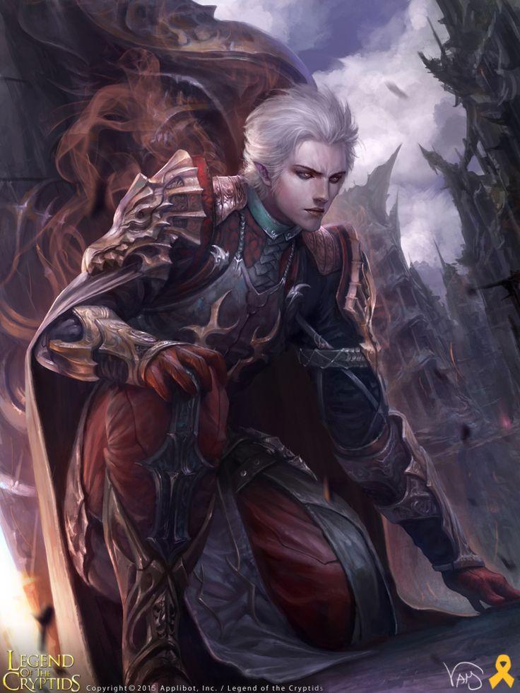 Artist: Yang Mansik aka yam8417 - Title: Unknown - Card: Edgar, Lady's Guard