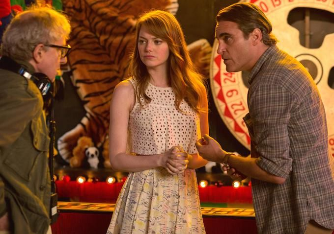 "#IrrationalMan gets two-minute standing ovation at #Cannes.""  http://thr.cm/eWEVVH   #Cannes2015 #EmmaStone"