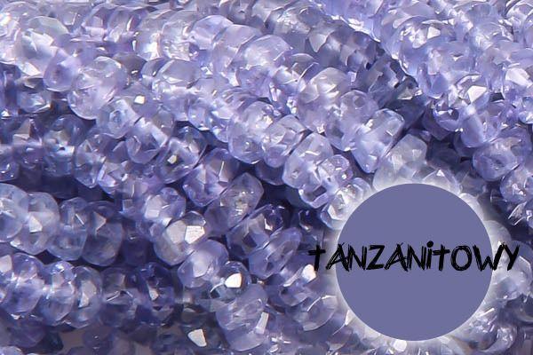 Kamienie - Tanzanit 4932kp - 0.3cm - 1szn.
