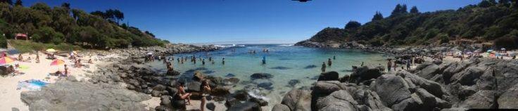 Playa secreta! Cachagua
