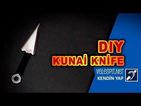 Velespit.Net - Kunai Fırlatma Bıçağı    Kunai Nasıl Yapılır Adım Adım