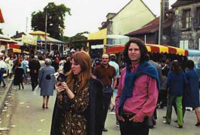 On June 28, 1971, Jim Morrison, Pamela Courson, and their friend, Alain Ronay, took a day trip to Saint-Leu-d'Esserent, north of Paris, less...