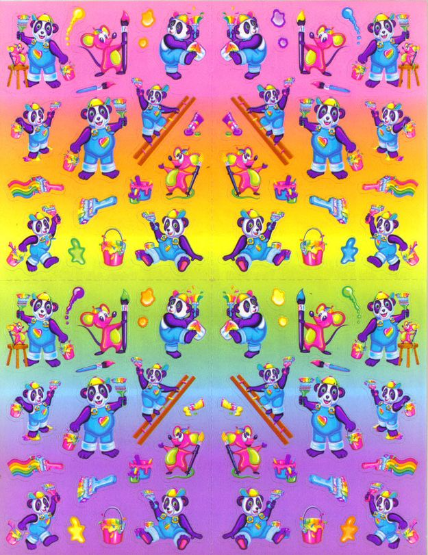 """Reviewing The """"Vintage"""" Lisa Frank Stickers Being Sold At Urban Outfitters"""