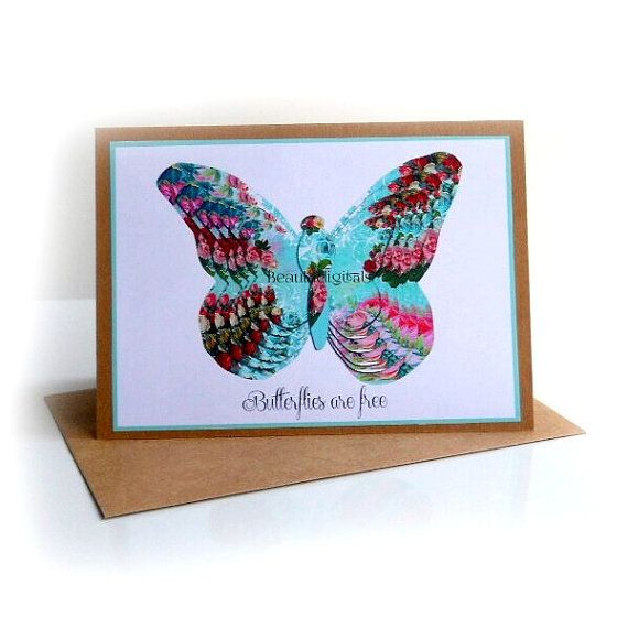 Butterfly Butterflies are Free 3D Effect by Beauladigitals on Etsy