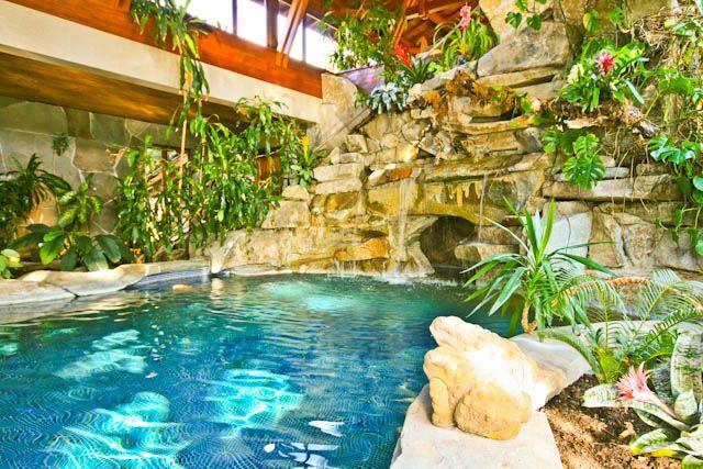 Indoor Saltwater Pool Greenhouse Home Pinterest