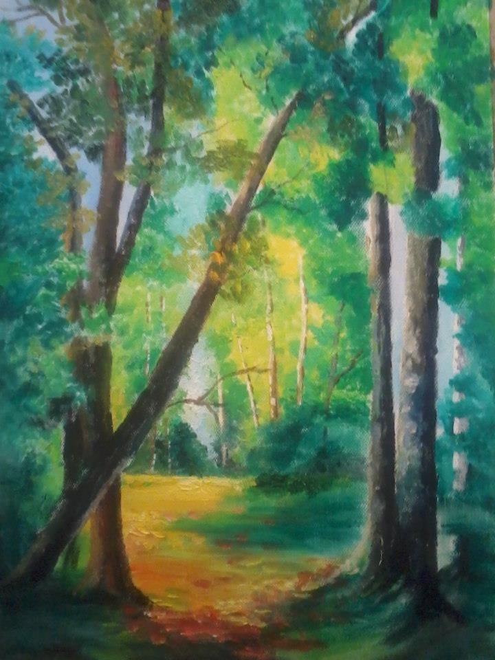 Silence , oil on canvas